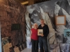 Michale Lang and Harvey Locke, co-authors Yellowstone to Yukon The Journey of Wildlife and Art