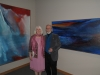 Curator Michale Lang and Artist Norman Yates