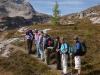 Michale Lang leading Art Hike at Lake O\'Hara, Harvey Locke, photographer